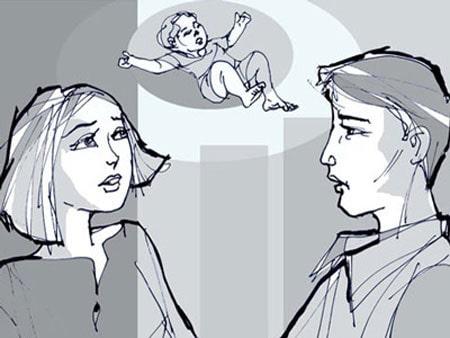 3. Nói chuyện với chồng